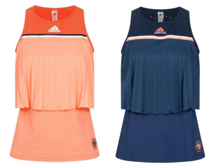 adidas Roland Garros Damen Tennis Tank Top Shirt für 18,94€ inkl. Versand (statt 25€)