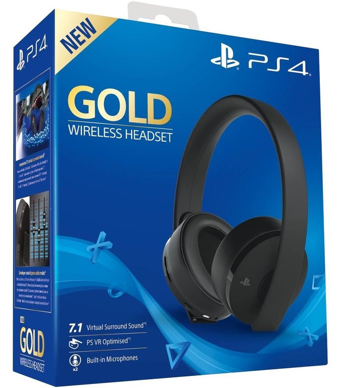 Sony PS4 Wireless Headset Gold Edition für 78,99€ inkl. Versand (statt 93€)
