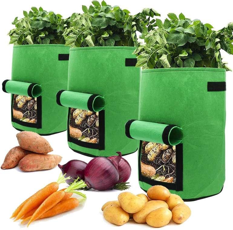 Hengda Pflanzen Taschen reduziert, z.B. 3er Pack 38 Liter für 11,89€ inkl. Prime Versand