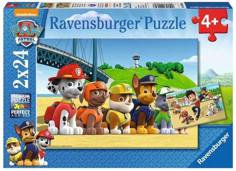 20% Rabatt auf Ravensburger Puzzle + 5€ Gutschein (MBW: 20€) - z.B. Heldenhafte Hunde für 7,99€