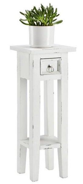 """Blumensäule """"Orkney"""" in Weiß für 32,12€ inkl. Versand (statt 41€)"""