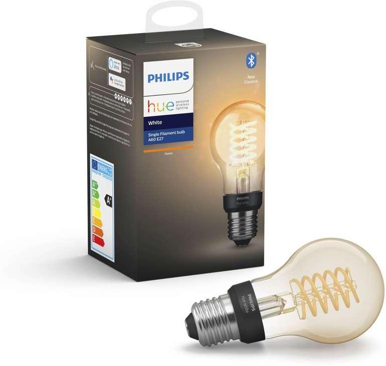 Media Markt GiGaGünstig Sale mit 20% Rabatt auf Philips Hue, z.B. E27 Filament Lampe für 14,39€