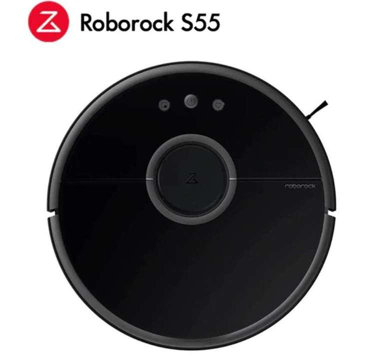 Xiaomi Roborock S55 Staubsaugroboter mit Wischfunktion für ca. 311€ (statt 353€)