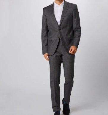 Joop! Anzug '17 JS-02Herby-Blayr' in grau für 191,16€ inkl. Versand (statt 500€)