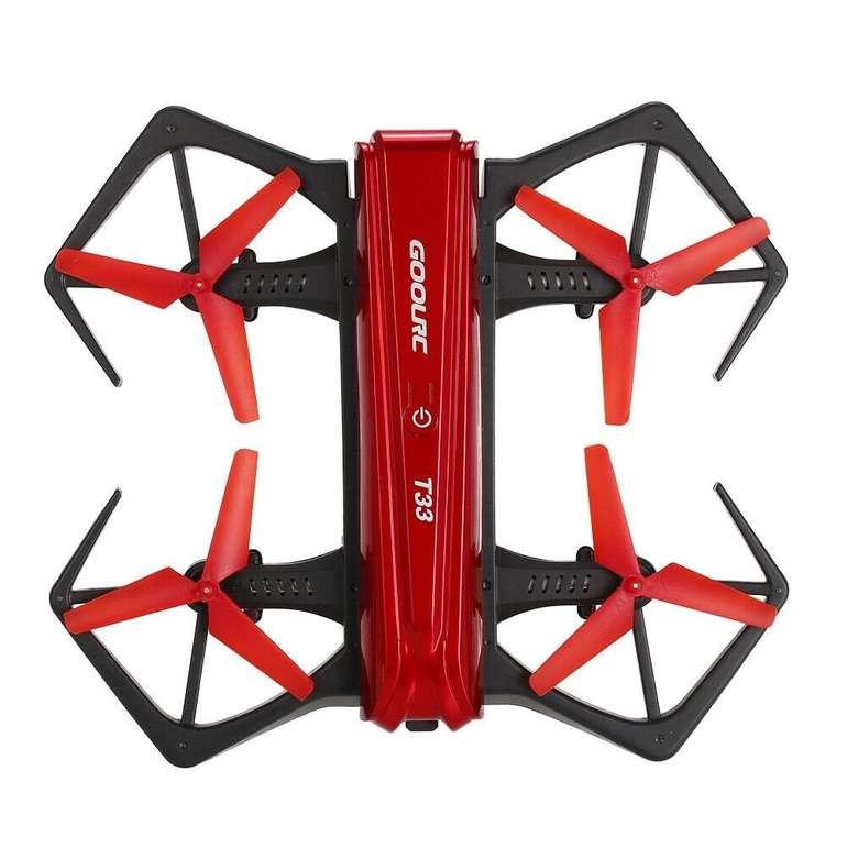 GoolRC T33 WIFI FPV 6-Achsen 4CH Mini RC Drohne mit 720P Kamera für 17,99€ inkl. Versand