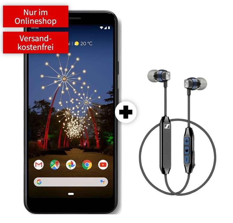 Google Pixel 3a + Sennheiser Kopfhörer + Vodafone Allnet (1GB LTE) zu 11,99€ mtl