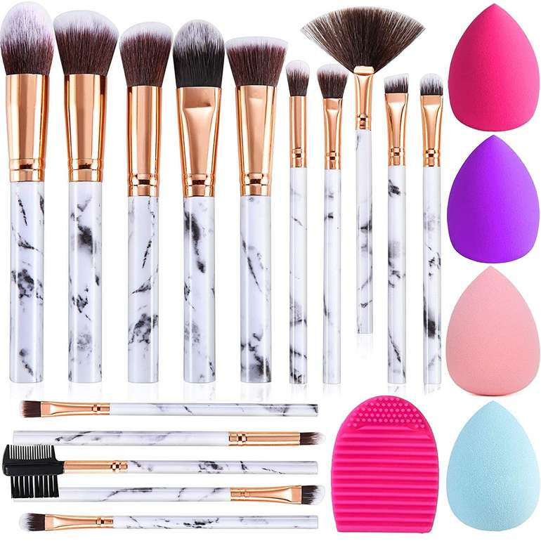 Duaiu 15-teiliges Make-up Pinsel Set für 6,59€ inkl. Prime Versand (statt 12€)