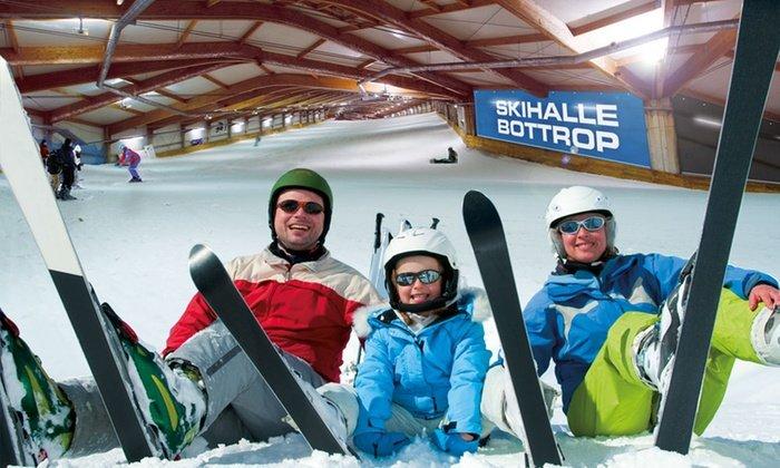 Alpincenter Bottrop: Ski-Tagesticket inkl. Buffet & Getränke (Mo - Fr) für 26€