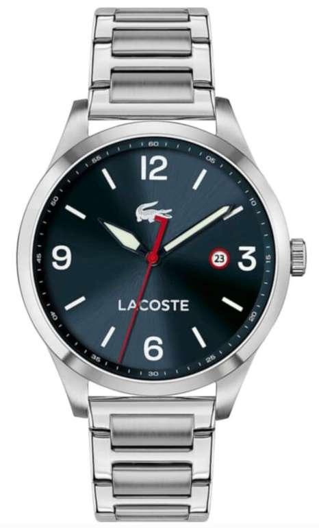 Valmano: 20% Rabatt auf ausgewählte Uhren & Schmuck – z.B. Lacoste Herrenuhr 2011108 für 86,23€ (statt 107€)