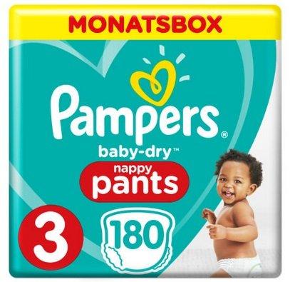 33% Rabatt auf Pampers Baby Dry Monatsboxen (kombinierbar mit Babypoints)