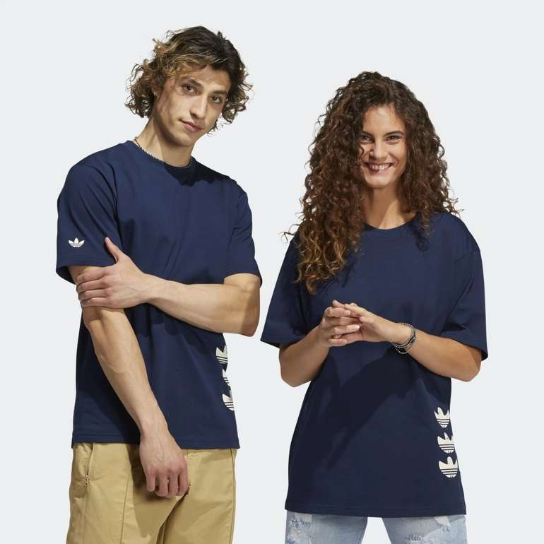 Adidas Drawn Shmoofoil Logo T-Shirt in 2 Farben für je 23,10€ inkl. Versand (statt 32€) - Creators Club