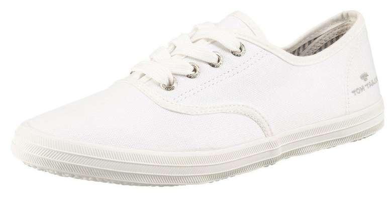 Tom Tailor Damen Sneaker in weiß für 16,01€ inkl. Versand (statt 20€)