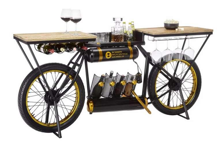 Premium Living Bar aus Mangoholz Massiv für 567,30€inkl. Versand (statt 768€) - Abholung: 468,25€
