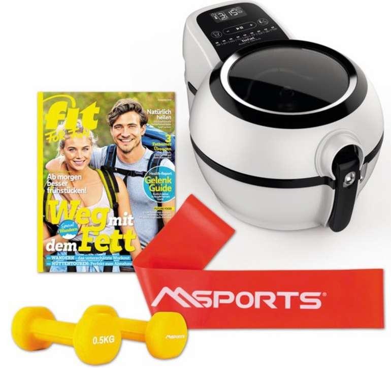 Tefal FZ7600 Heißluft-Fritteuse + Fitness-Set für 115,99€ inkl. Versand (statt 145€)