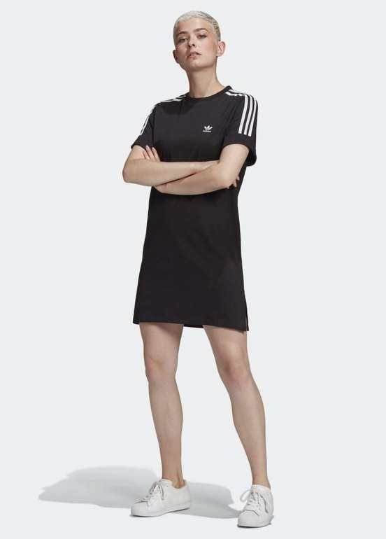 Adidas Adicolor Classics Roll-Up Sleeve Kleid in 2 Farben für je 26,25€ (statt 34€)