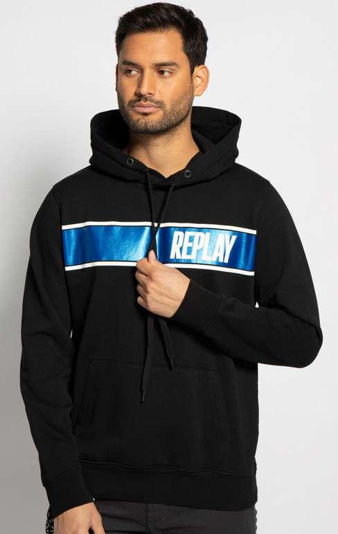 Replay Herren Sweatshirt in Schwarz für 36,25€ inkl. Versand (statt 50€)