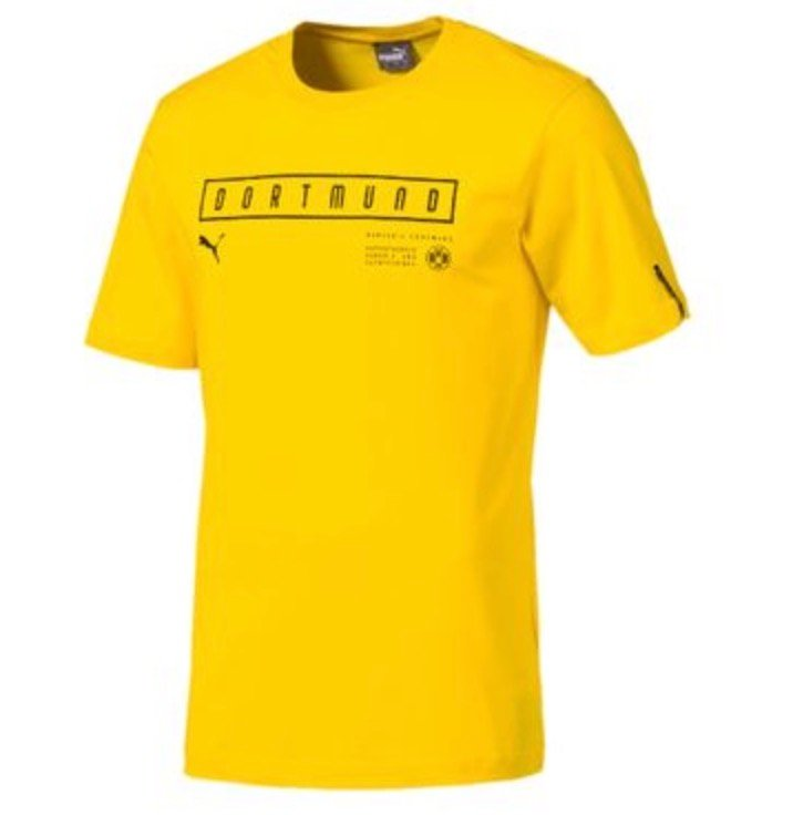 Puma BVB Borussia Dortmund Herren Fan T-Shirt für 9,99€ inkl. Versand (statt 17€)