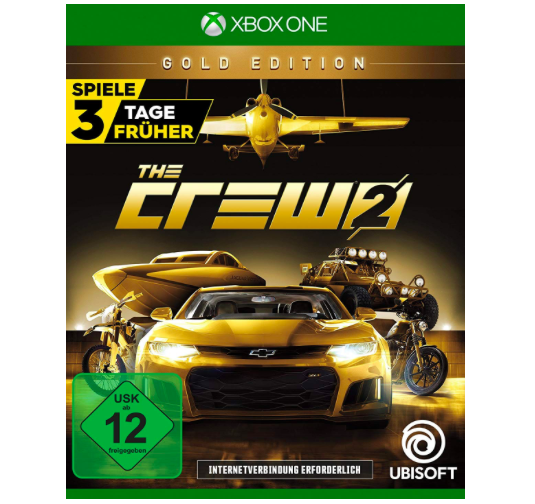 The Crew 2 - Gold Edition (inkl. Season Pass) [Xbox One] für 30,97€ (statt 47€)
