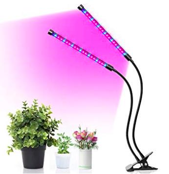 Minger LED Pflanzenlampe mit Rot Blau Licht für Pflanzen Wachstum nur 12,99€