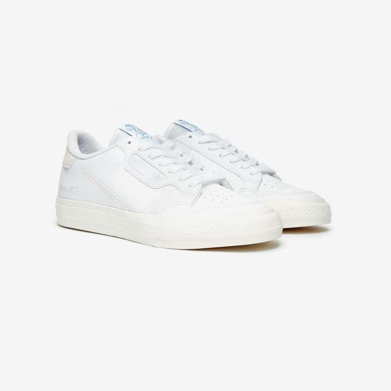 Adidas Originals Continental Vulc x Unity Sneaker in Weiß für 31€ inkl. Versand (statt 54€)