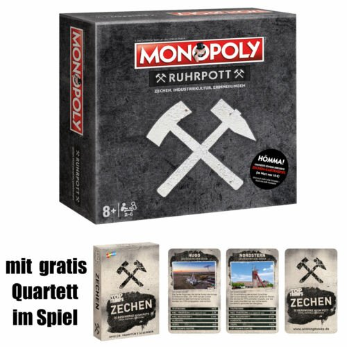 Monopoly Ruhrpott Gesellschaftsspiel inkl. Gratis Quartett für 47,65€ (statt 60€)