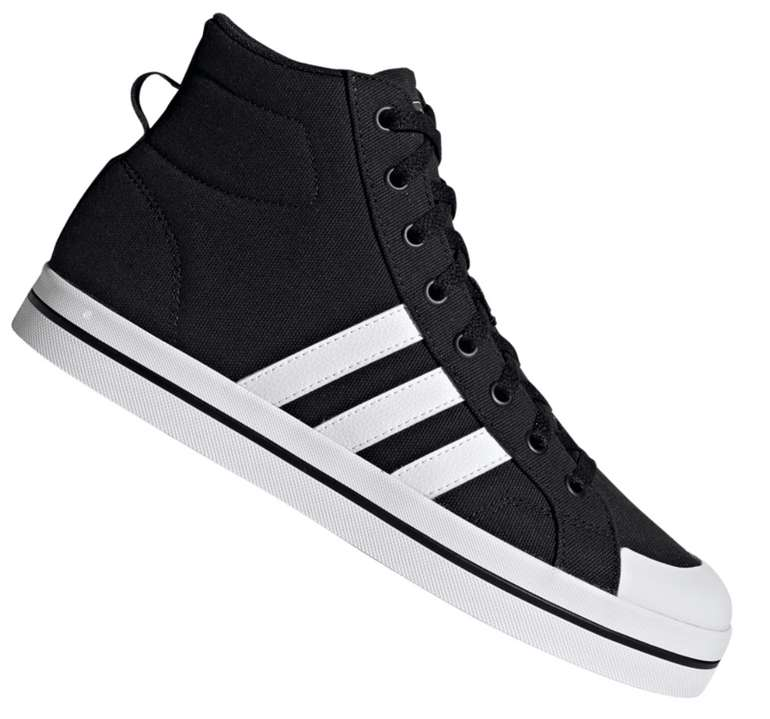 Adidas Bravada Mid Sneaker in schwarz für 35,95€ inkl. Versand (statt 60€)