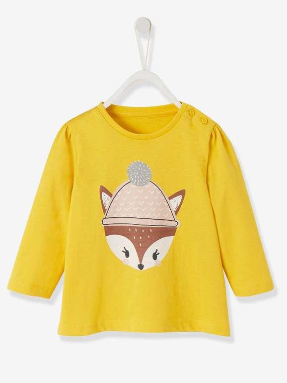 Vertbaudet: 15% auf ausgewählte Artikel rund ums Baby + VSKfrei, z.B. Baby Shirt 5,09€