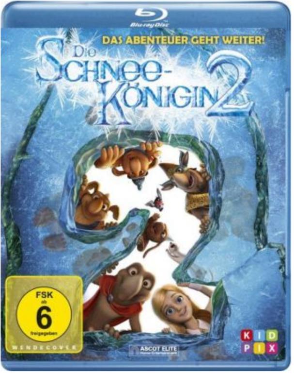 Die Schneekönigin 2 - Eiskalt entführt (Blu-ray) für 3,27€ inkl. Versand