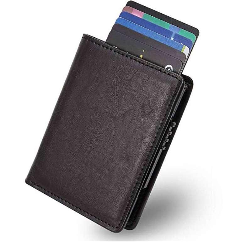 Lebexy Kartenetui aus Leder (RFID-Schutz) für 6,96€ inkl. Versand (Prime)
