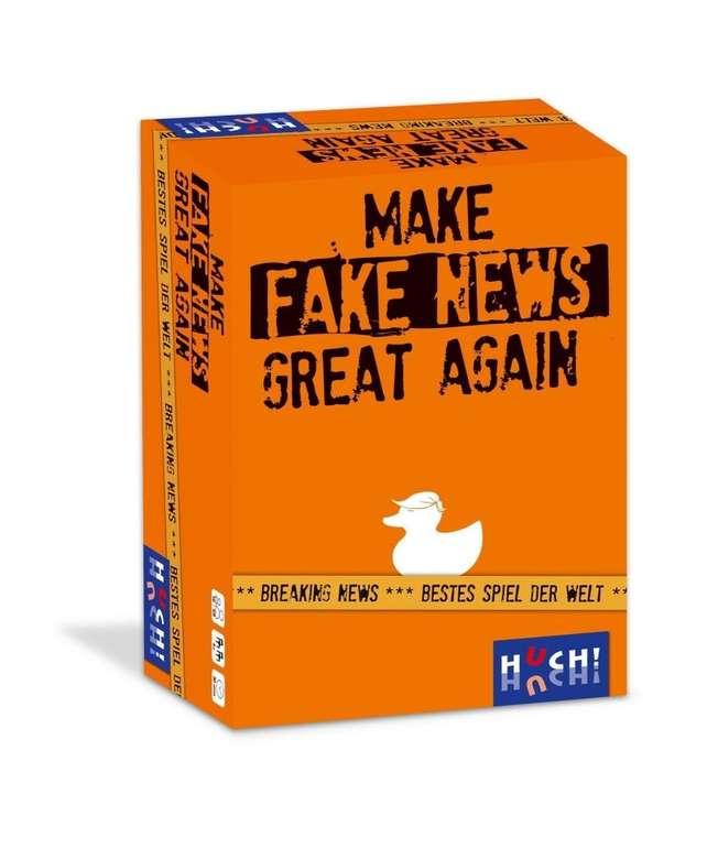 "Huch Partyspiel ""Make Fake News Great Again"" für 11,06€ inkl. Versand (statt 20€) - KultClub!"