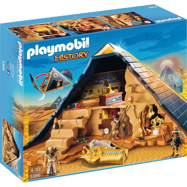 PLAYMOBIL History: Pyramide des Pharao (5386) für 30€ (Filiale) Vergleich: 43€