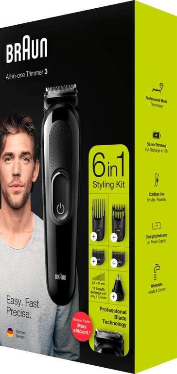 Braun 6-in1 Multi-Grooming-Kit MGK 3220 für 22€ inkl. Versand (statt 29€)
