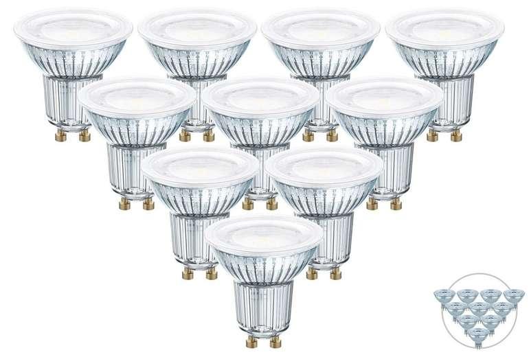 10x Osram LED-Spot (Fassung: GU10 oder GU5.3) für 28,90€ inkl. Versand (statt 44€)