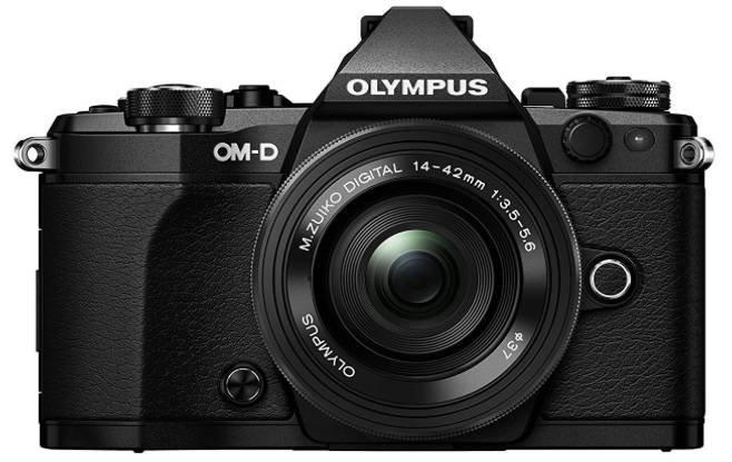 Olympus OM-D E-M5 Mark II Systemkamera mit 14-42 MM F/5.6 Objektiv für 888€
