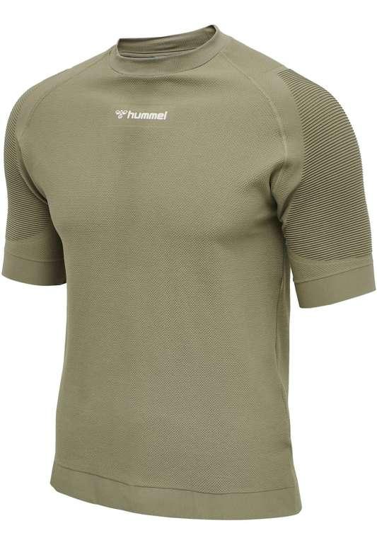 """Hummel Herren T-Shirt """"Cube"""" in Khaki für 9,76€ inkl. Versand (statt 12€)"""