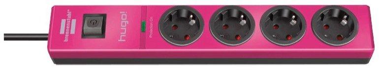 Brennenstuhl hugo! 4-fach Überspannungsschutz-Steckdosenleiste für 7,50€