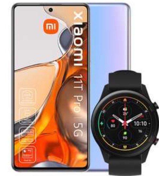 Xiaomi 11T 5G Smartphone (8GB RAM, 256GB Speicher) + Xiaomi Mi Watch für 549,90€ (statt 699€)