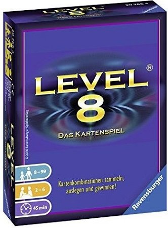 "Ravensburger ""Level 8"" Kartenspiel für 6€ inkl. Versand (statt 9€)"
