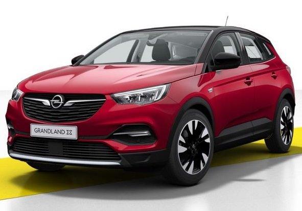 Gewerbe: Opel Grandland X mit guter Ausstattung im Full-Service Leasing für nur 99,14€ netto mtl. - LF: 0,35!