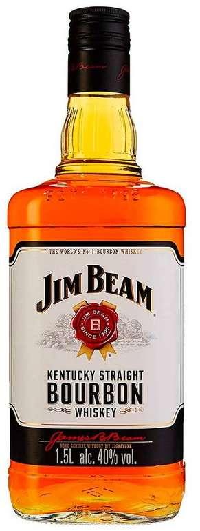 Jim Beam Weiß Kentucky Straight Bourbon Whiskey (1 x 1.5 l) für 17,49€ mit Prime (statt 28€)