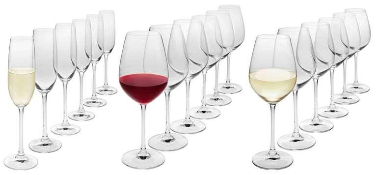 """Spiegelau 18-teiliges Gläser-Set """"Salute"""" für 24,35€ inkl. Versand (statt 41€)"""