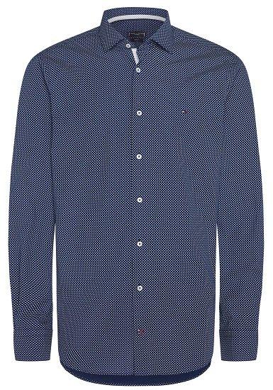 Tommy Hilfiger TAILORED Businesshemd mit Punktmuster für 42,12€ (statt 55€)