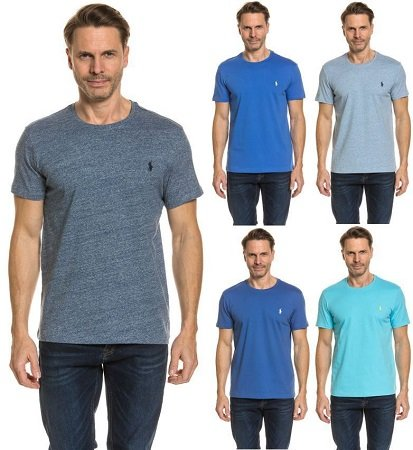 Ralph Lauren Herren T-Shirts mit Rundhals in Custom-Fit je 17,99€ (statt 30€)
