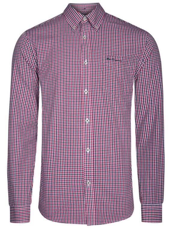 Ben Sherman Hemden Sale bei SportSpar - z.B. Casual Langarm Hemd für 17,99€