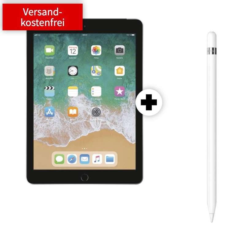 """iPad 2019 - 10,2"""" Tablet (32GB, WiFi, 4G) + Apple Pencil (11€) + 10GB LTE Telekom für 24,99€ mtl."""