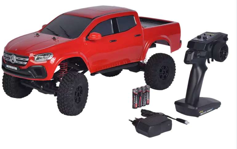 Carson 1:10 MC-10 MB X-Klasse 2.4G 100% RTR Spielzeugmodell in Rot für 120€ inkl. Versand (statt 165€)