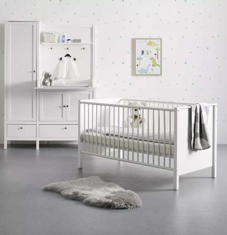 Bessagi Kids Babyzimmer Emma (bestehend aus Schrank, Bett und Wickelkommode) für 419,30€ inkl. Versand (statt 599€)