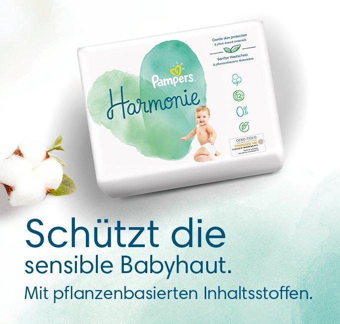 Pampers Harmonie Windeln gratis testen dank Geld-zurück-Garantie (Rossmann)