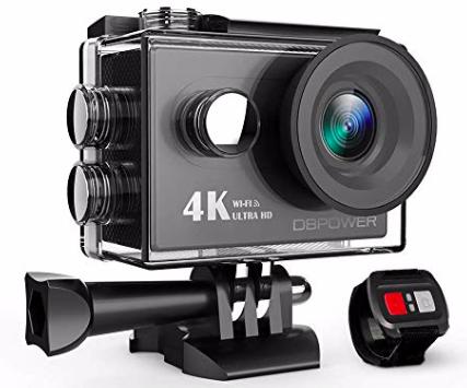 """DBPower 4K Action Cam mit 2"""" Display & WiFi für 30,09€ inkl. Versand"""