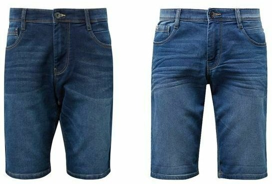 Tom Tailor Josh Regular Slim Herren Bermuda Jeans Shorts 2
